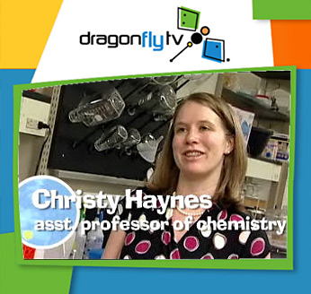 Watch a Dragonfly video of biochemist who tests to make sure products with nanoparticles are safe for humans