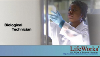 day in the life of a biological technician