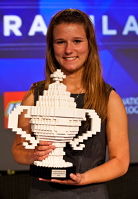 Brittany Wenger, 2012 Google Science Fair Winner