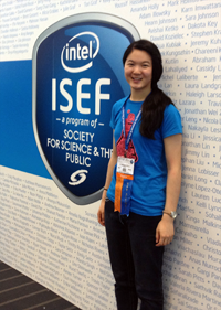 Christina Ren at 2012 Intel ISEF