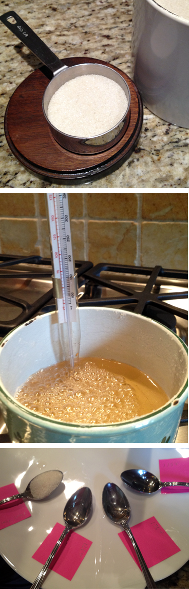 Family Kitchen Science: Making Caramel Sauce