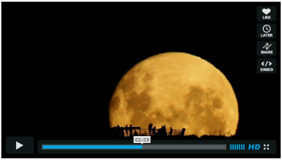 Full moon Mark Gee Video Screenshot