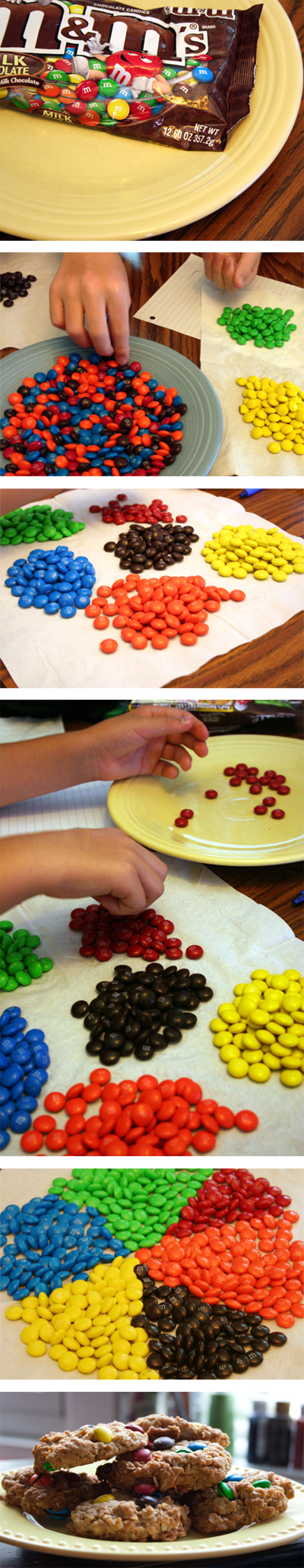 MM's hands-on math family science activity