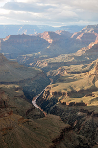 Grand Canyon hermits rest / Wikimedia Commons: chensiyuan