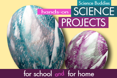Tie Dye Easter Eggs / science Activity Family Science Spotlight