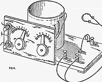 Crystal Radio diagram from 1920s