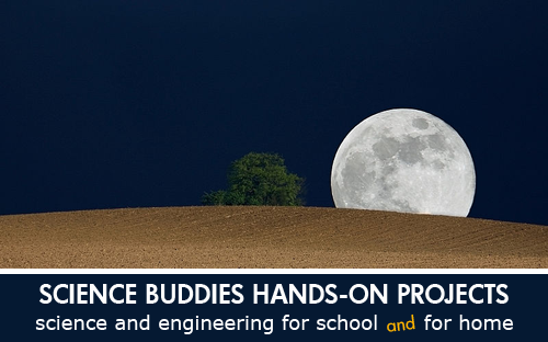 Weekly Science Activity Spotlight / Full Moon Illusion Science Project for School or Family Science