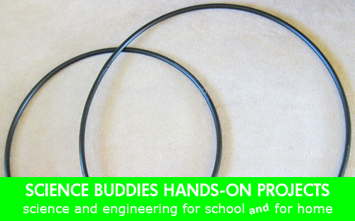 Weekly Science Activity Spotlight / Hula Hoop Hands-on Science Project for School or Family Science