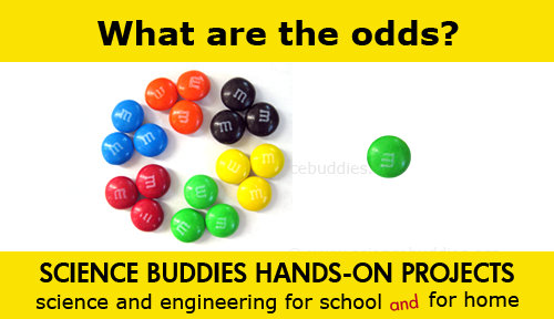 Weekly Science Activity Spotlight / M&M math and statistics Science Project for School or Family Science