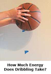 Basketball science sports dribbling energy / Science project
