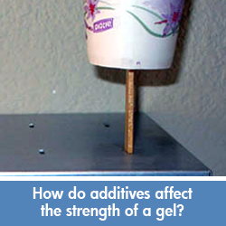 Additives affect on gel science project