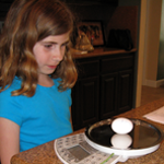 Egg Science / family project