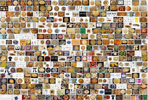 Pi Day Pi Pie Screenshot from Google search