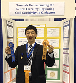 2013 Success Story / Michael Shao at 2013 Intel ISEF