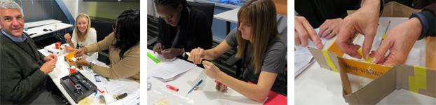 Symantec volunteers test science kits