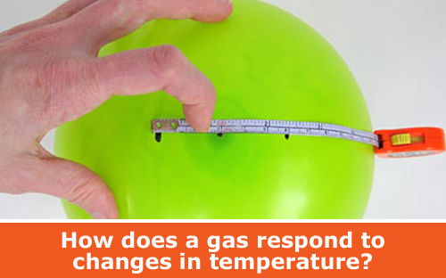 Explore how gases contract and expland  / Hand-on STEM experiment
