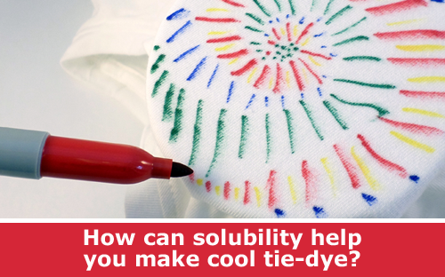 Tie-Dye Using Permanent Markers Chemistry Activity and DIY Project  / Hand-on STEM experiment