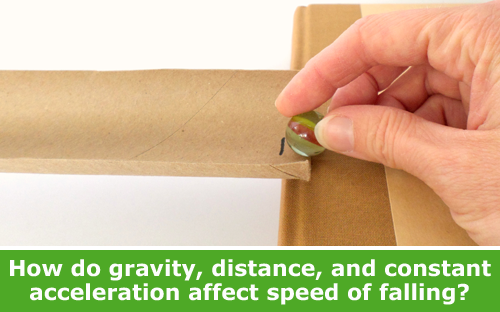 Explore the science of speed and constant acceleration / Hand-on STEM experiment