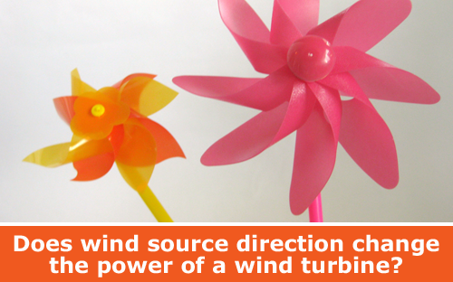Use a pinwheel to explore wind turbine power and energy science experiment  / Hand-on STEM experiment