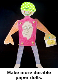 2014 Summer Science Guide: Paper Dolls Science Project
