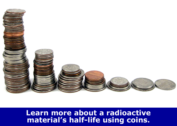 Explore Radioactive Decay with Coins / Family STEM Activity