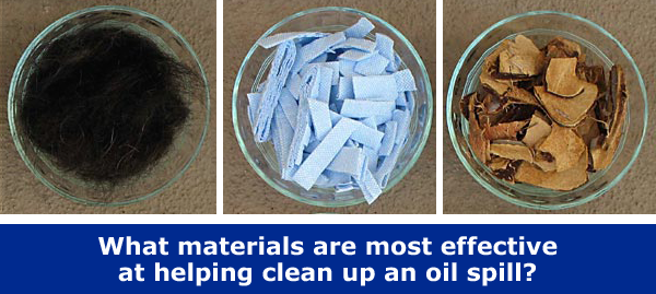 Explore how sorbents help with environmental cleanup after an oil spill / Hand-on STEM experiment
