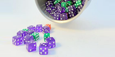 Last Year on the Science Buddies Blog / superbugs dice