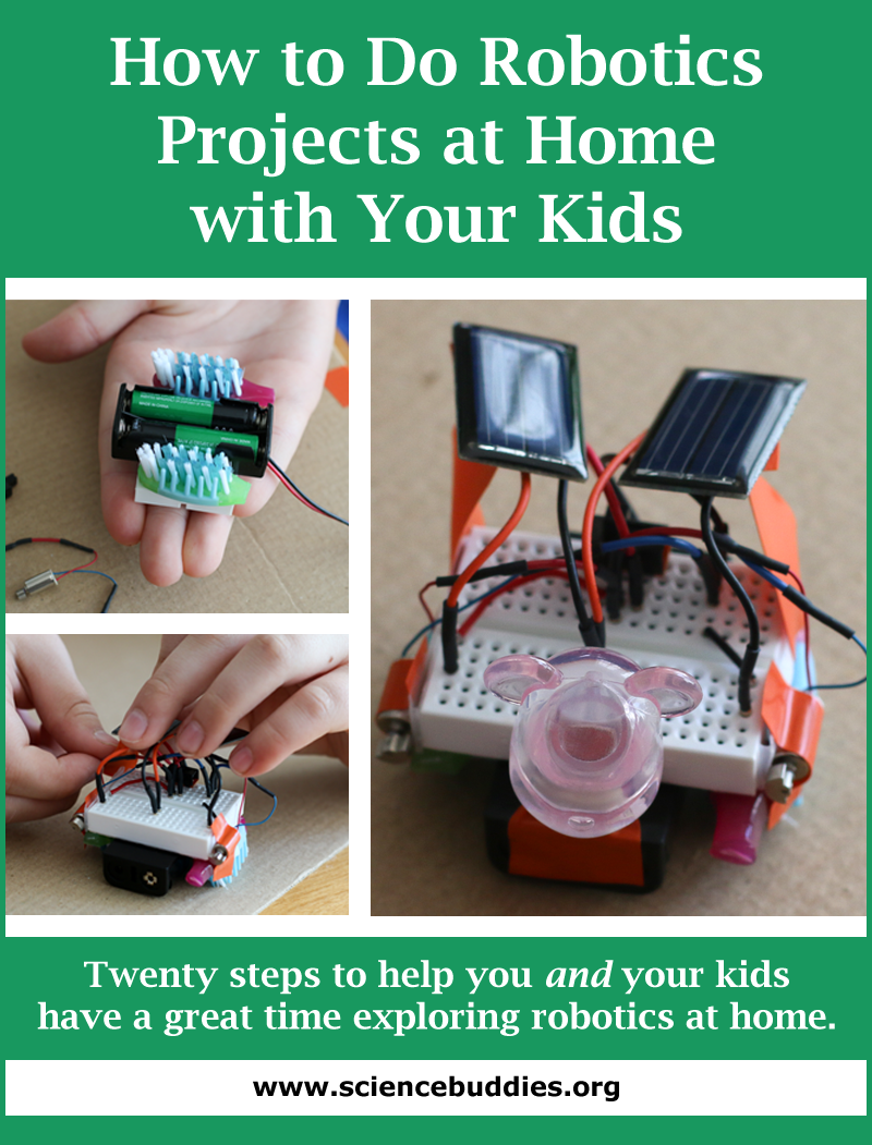 How to do robotics at home with your kids for Do my project