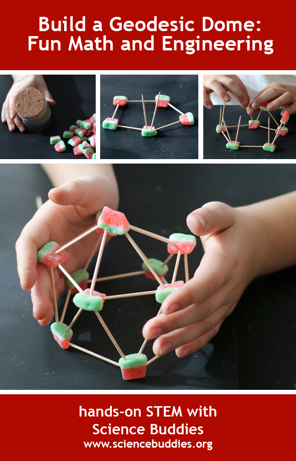 A Geodesic Dome for the Season / Holiday STEM idea for Winter Break and Math exploration