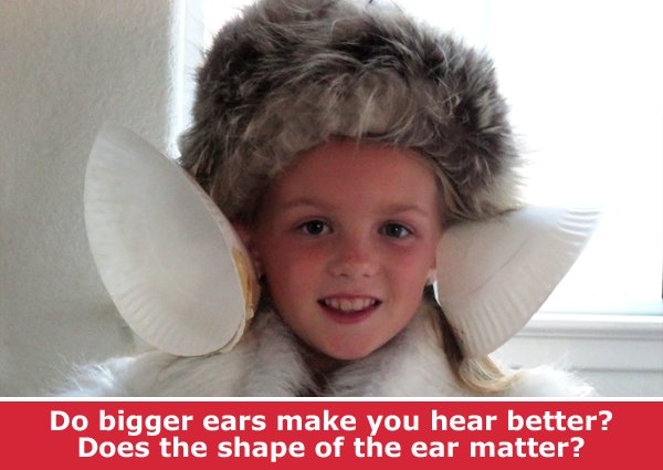 Big Ears Science / Family STEM activity