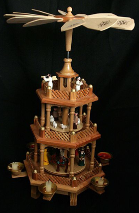 Traditional Christmas Pyramid