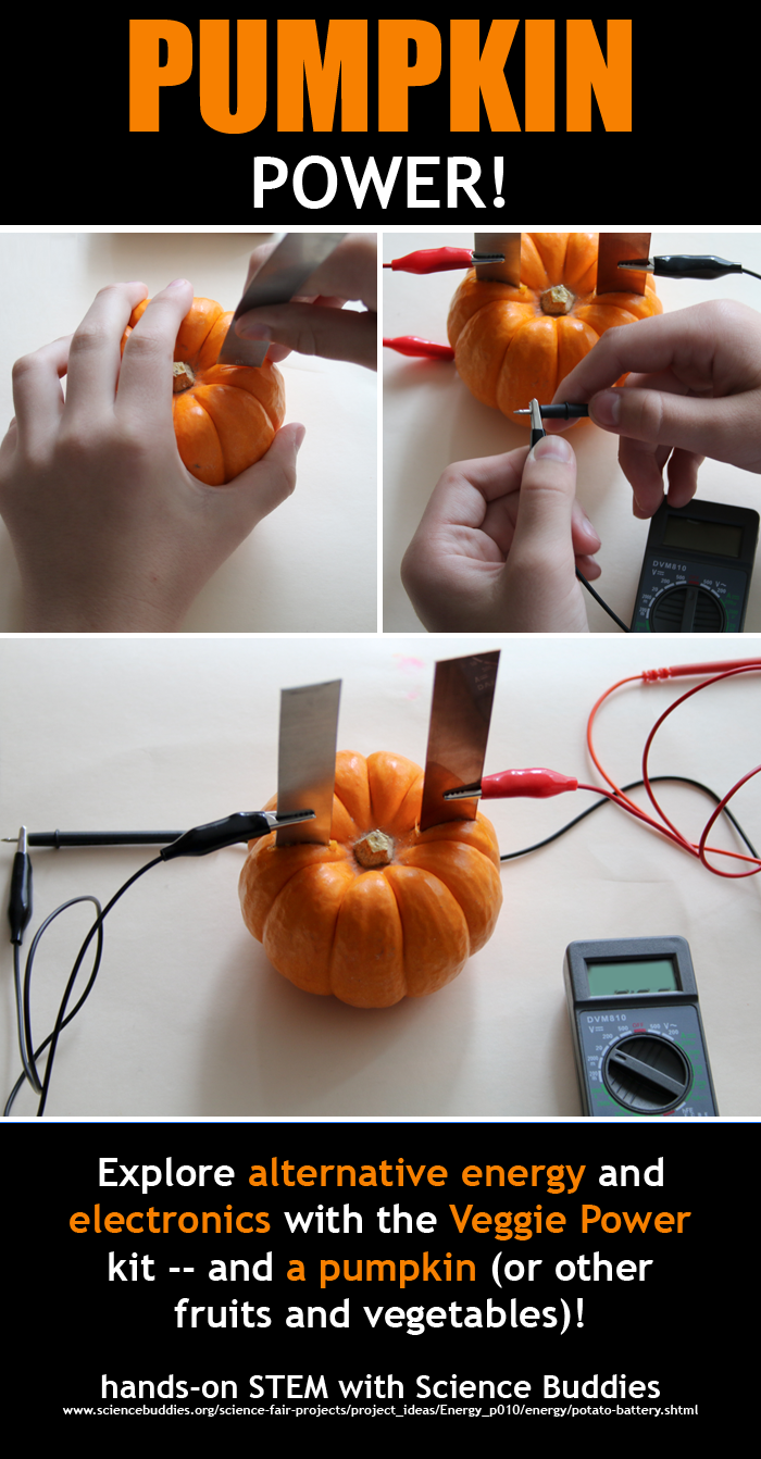 Pumpkin Power Project / Hands-on Student STEM for Halloween