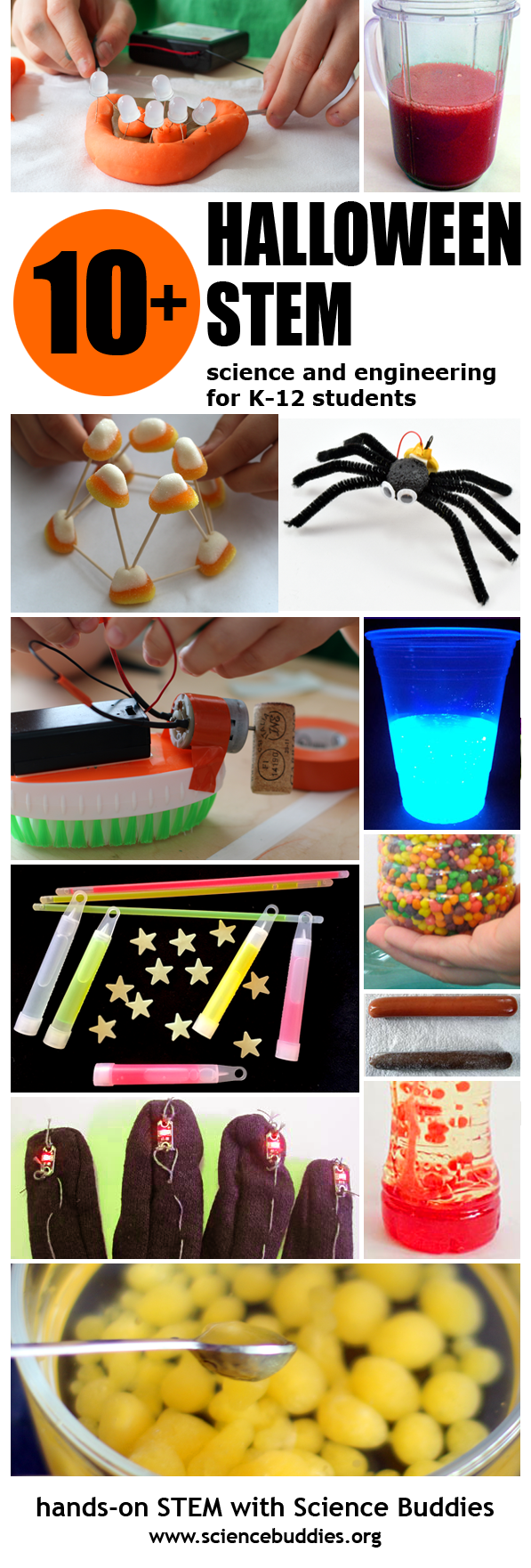 Spooktacular Halloween Science / Hands-on Halloween STEM Roundup