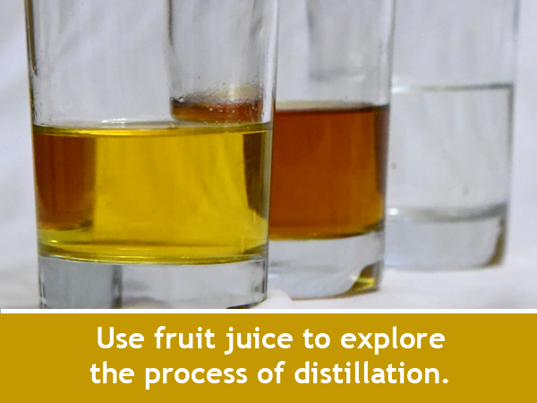 Fruit Juice Distillation / Family STEM Chemistry Activity