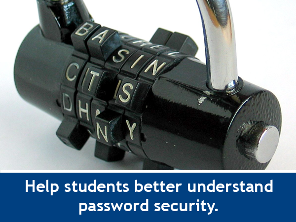 Boost Password Savvy with a Classroom STEM Game / Classroom Activity for K-12 Educators