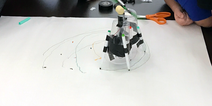 Ohio 4-H students building and experimenting with ArtBots