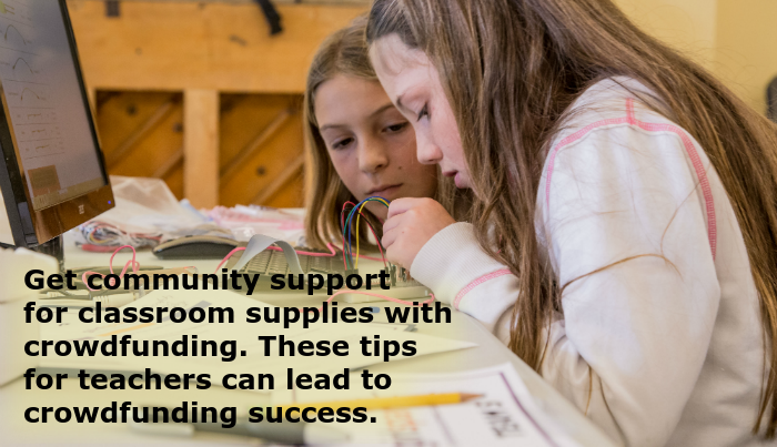Crowdfunding: Fundraising Ideas and Tips for Teachers