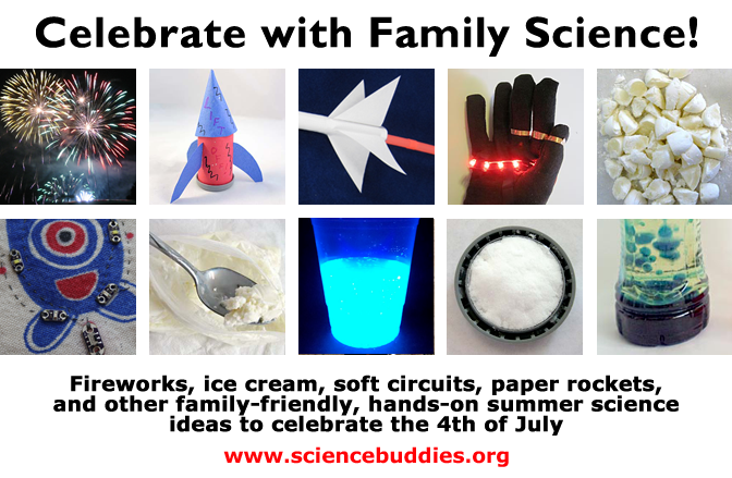 Fourth of July Science for Family Fun