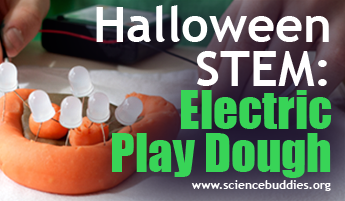 Halloween STEM / Electric Play Dough