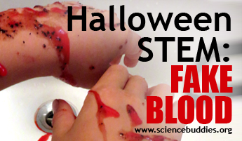 Halloween STEM / Fake Blood