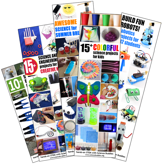 Get Ready for Summer Science / Find a summer STEM project or activity at Science Buddies