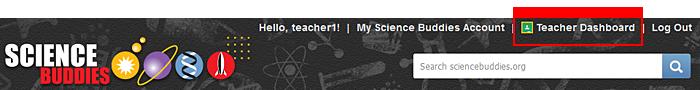 Access the Teacher Dashboard once logged in as a Google Classroom teacher