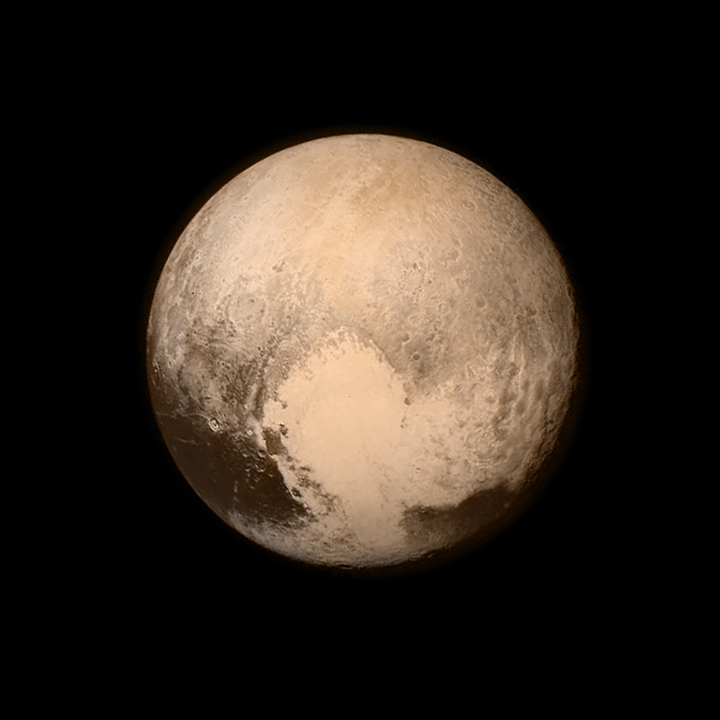 NASA Photo / New Horizons, July 14, 2015 -- NH_Approach_720.png