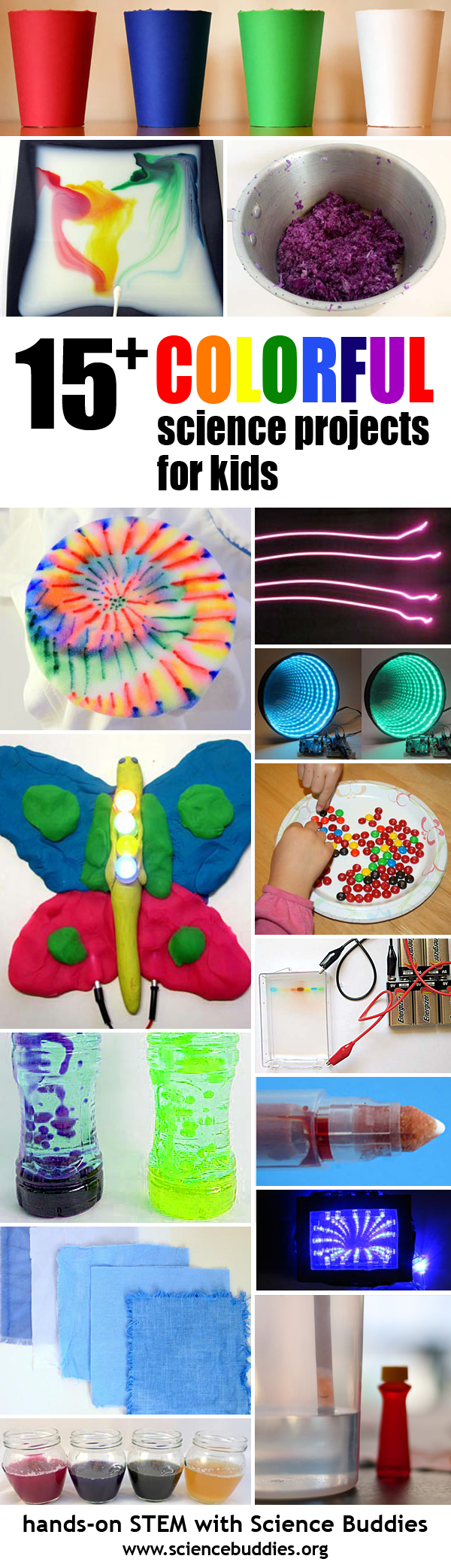 Colorful STEM Projects for Summer Science Fun