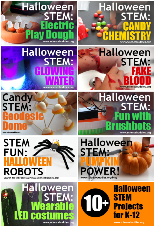 Science Buddies Halloween projects and activities / 2017 collection