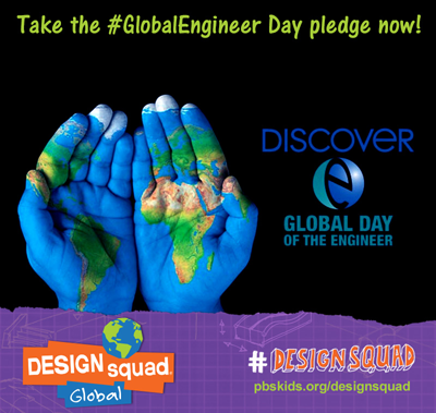 Design Squad Global Launches this Engineers Week