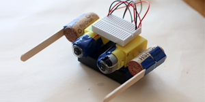 Flippy the Robot Dances (and Falls Apart) / Engineering Design Project for Students