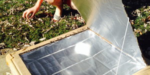 Solar oven science project success story