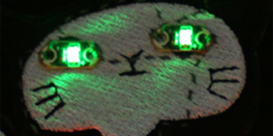 Wearable Electronics: Sewing an LED Patch