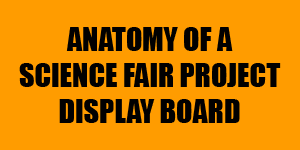 Anatomy of a Project Display Board